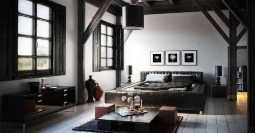 Спалня с подчертан мъжки стил. Как да я създадем?