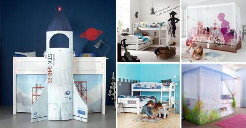 7 идеи за приказни детски стаи