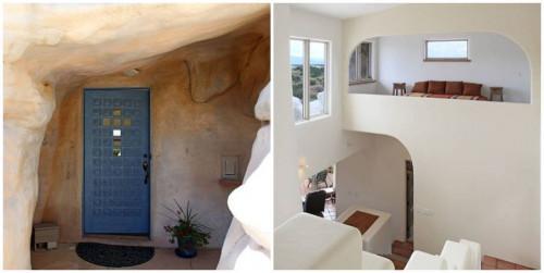 Дом-мечта, построен в скала