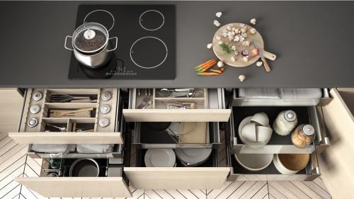 Кои са най-подходящите чекмеджета за вашата кухня