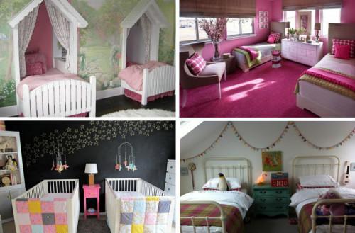 Симпатични идеи за детска стая на близнаци