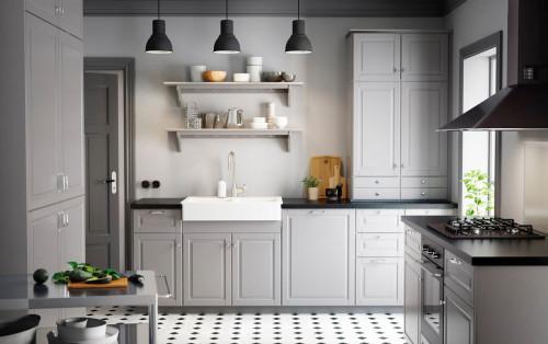 Дизайн на малка кухня: превръщаме недостатъците в достойнство