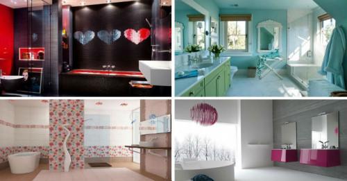 6 кокетни бани, проектирани изцяло за жени