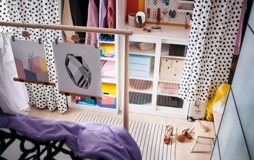 Идеи за отворен гардероб в твоята спалня