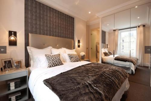 Създайте уютна малка спалня с няколко интериорни решения