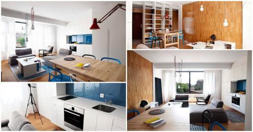 Двустаен апартамент в София впечатлява с фантастичен дизайн
