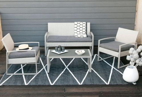 Съхранете правилно градинските мебели