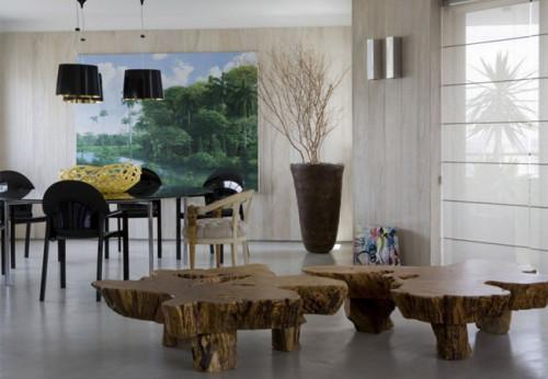 Стилен интериор на апартамент в Бразилия