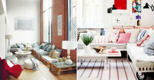 Да си направим диван от палети. Толкова е лесно!