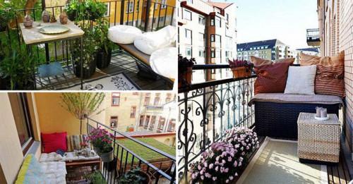 7 идеи как да превърнем малкия балкон в райско кътче