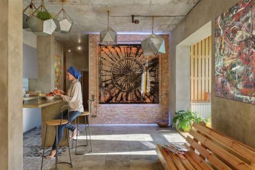 Колоритност и очарование в стилен апартамент, вдъхновен от персийската култура