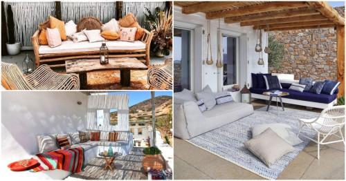 Балкон в гръцки стил: как да пренесем морския рай у дома?