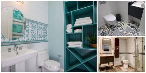 Революционни решения за малки бани, в които ще се влюбите
