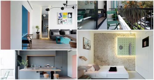 Великолепно жилище с оригинален дизайн и ярки акценти