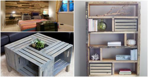 Съвети за начинаещи: как да използваме дървените палети в интериора на дома?