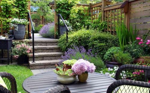 Хитри идеи за малката градина