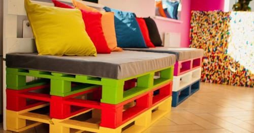 Мебели от палети за детската стая: да съчетаем практичност и симпатичен дизайн