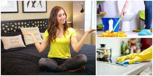 Как да изчистите целия си дом за час?