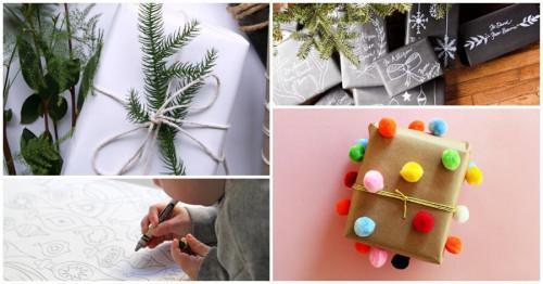 8 уникални идеи за бързо и красиво опаковане на подаръци с подръчни материали