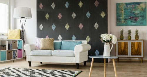 Цветовете в дневната или как да бъдем креативни в сърцето на дома