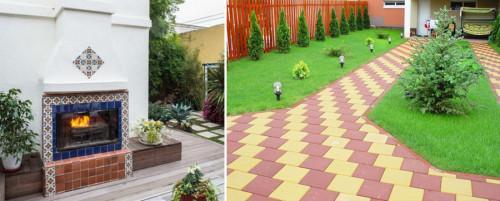 Декоративни плочки за двор - красиви решения, за които съседът ще ви завиди