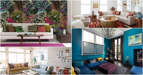 Внесете цветното очарование в дневната