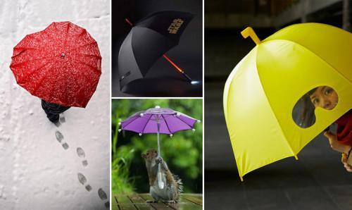 Страхотни чадъри, с които ще ви се иска да вали постоянно