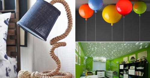 Оригинални детски лампи, които ще впечатлят всяко хлапе