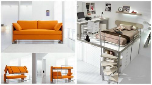 Практични идеи за дома - 6 страхотни функционални легла
