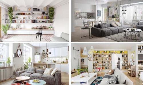 Скандинавският интериорен дизайн в жилището