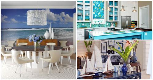 Пренесете лятото у дома, като се вдъхновите от морския стил в интериора