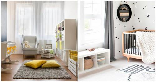 Как да изберете цветовете за бебешката стая