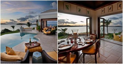 Великолепна вила ни потапя в романтика край брега на Карибско море