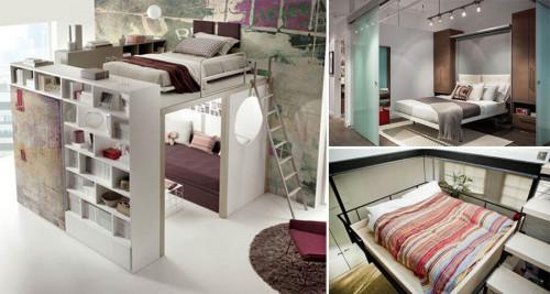 8 изобретателни легла за малки спални