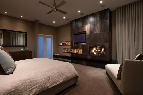 Електрическата камина ще внесе неповторима топлина в спалнята