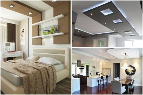 Как да си направим окачен таван сами?