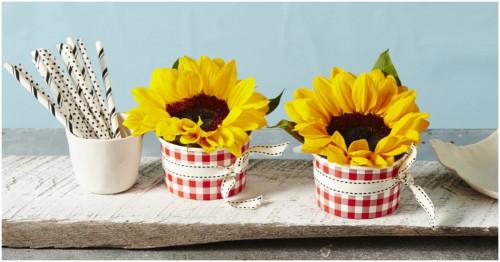 4 декорации със слънчогледи за красив и слънчев дом