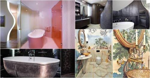 10 невероятни бани с абсолютно нестандартен дизайн