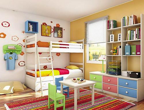 Отново на училище – как да подготвим детската стая