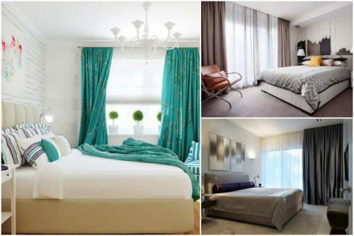 5 интересни тенденции при избора на завеси за спалнята