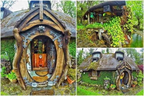 Докоснете се до магичния свят с обиколка на впечатляващ Хобит дом