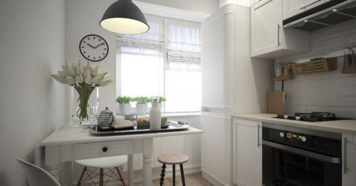 Малка кухня в жилището