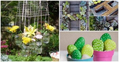 5 лесни декорации за градината, които да си направите сами още днес
