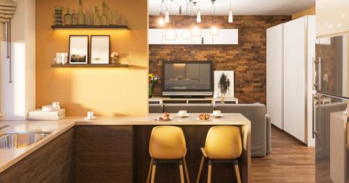Свежа жълта кухня: 5 лесни стъпки към създаването й