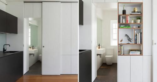 Елегантно и вдъхновяващо жилище, което обхваща едва 27 кв.м.