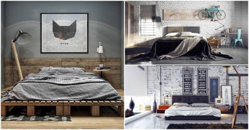 4 прекрасни спални в индустриален дизайн4 прекрасни спални в индустриален дизайн