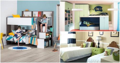Детска стая с две легла - как да я направим подходяща за всички възрасти?