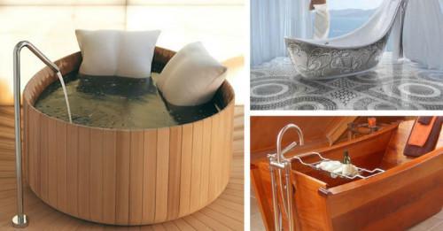 5 от най-оригиналните вани, създавани някога