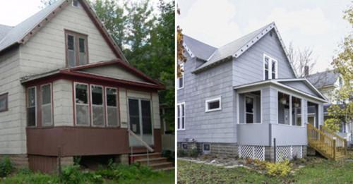 Преди и сега: Викторианска къща преживява пълна промяна