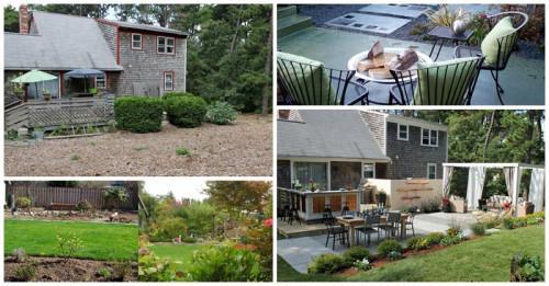 Преди и след: 12 оригинални идеи за обновяване на градината